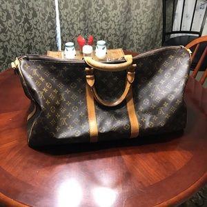 Authentic Vintage Louis Vuitton keepall bag.